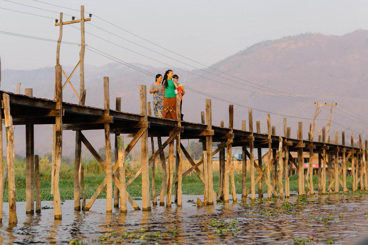 Mandalay Zwiedzanie starozytnej stolicy Birmy 052