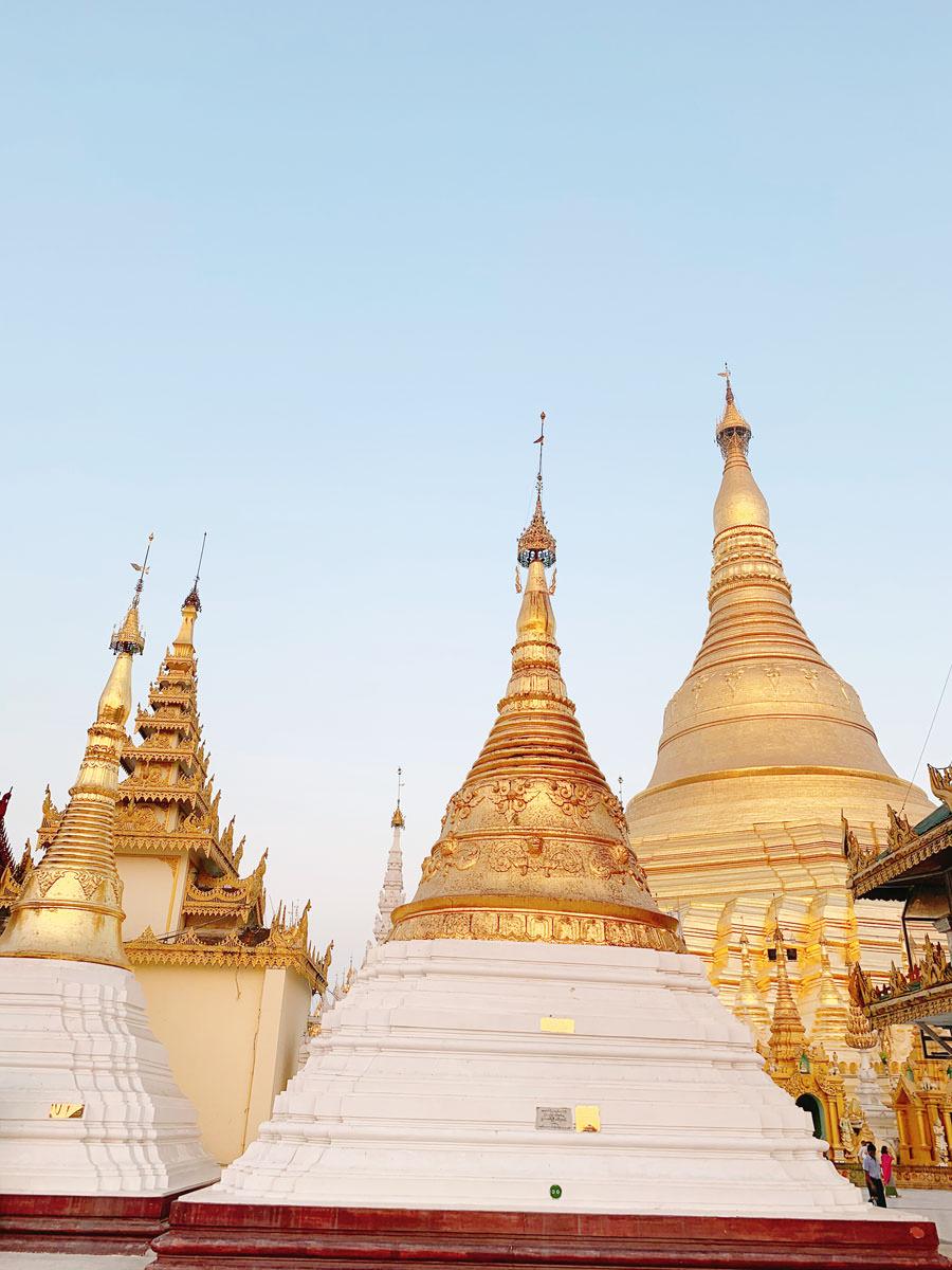 Yangon świątynie Shwedagon Paya
